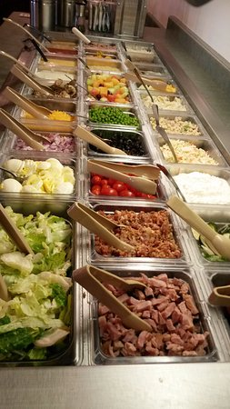 Lomira, WI: Soup and Salad Bar served everyday