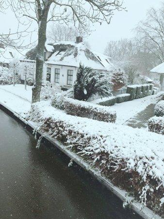Winter Fairyland Giethoorn In The Netherlands 阿姆斯特丹cherry