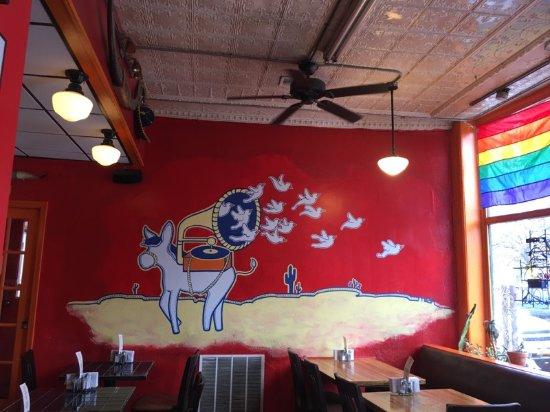 John's Tex-Mex Eatery: Wall painting