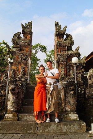 Pekutatan, Indonesië: ausflug zu einem tempel