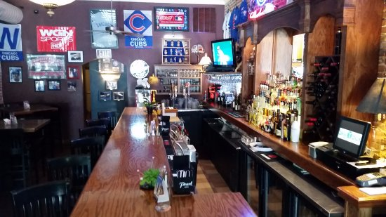 Greencastle, IN: Check out the Swizzle Stick Bar adjacent to our restaurant. A Cubs Fan Paradise