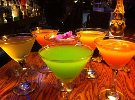 Greencastle, IN: Half off martini's on Wednesday nights.