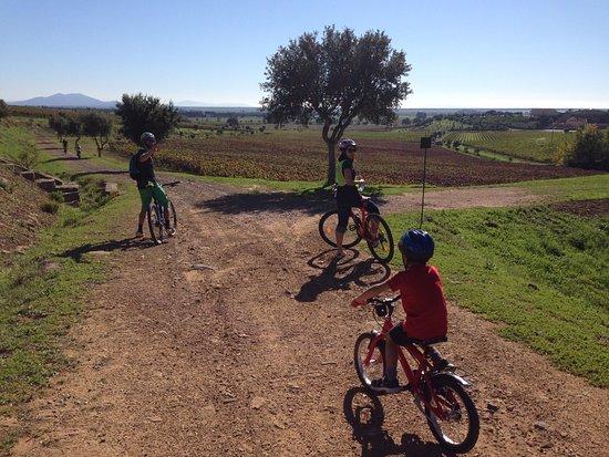 Gallia Palace Beach & Golf Resort: Tour by Bike