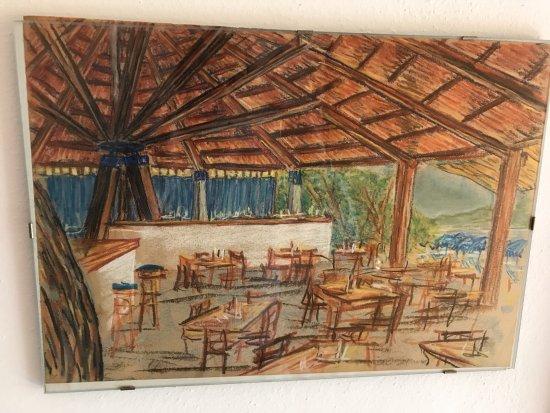 Gallia Palace Beach & Golf Resort: Pagoda restaurant on the Beach !