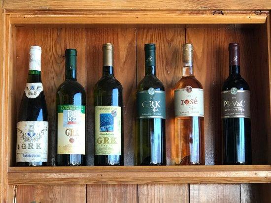 Korcula Island, Kroatien: Local Wine