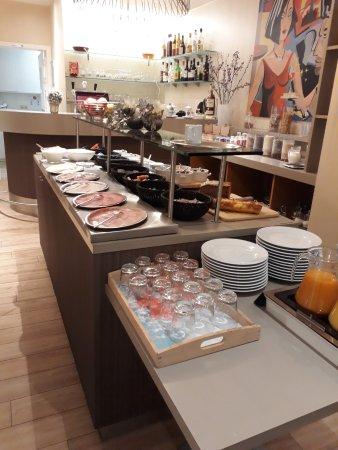 Roeselare, Belgium: Ontbijtbuffet