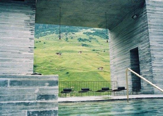 Vals, Switzerland: Bilderrahmen