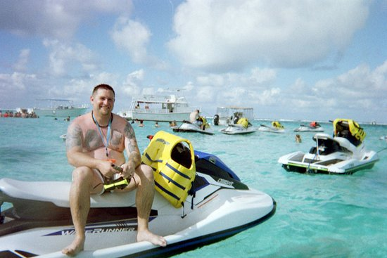 George Town, Grand Cayman: just arrive at stingray city