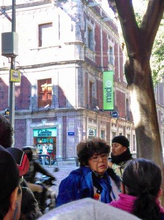 Naucalpan, México: En el MIDE ( del recorrido: La Calzada México-Tacuba a través del Tiempo)