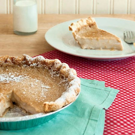 Shelbyville, IN: Sugar Cream Pie, my all-time favorite dessert, made from scratch