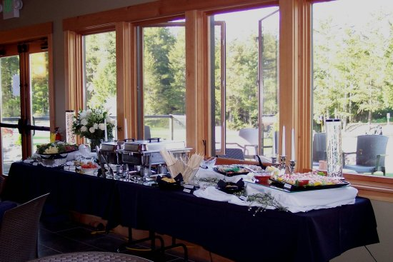 Union, WA: Beautiful Party Buffet in the Terrace Dining Room