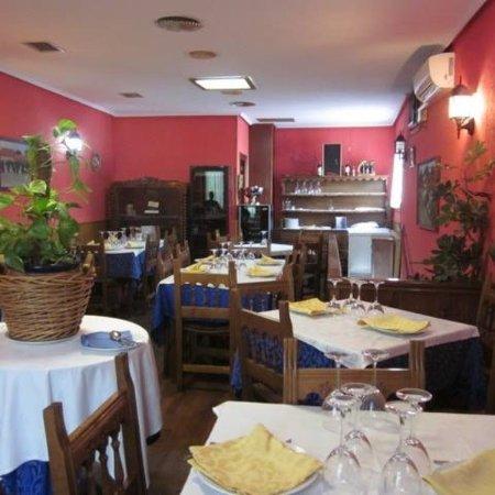 Galapagar, Испания: Vista del salon comedor