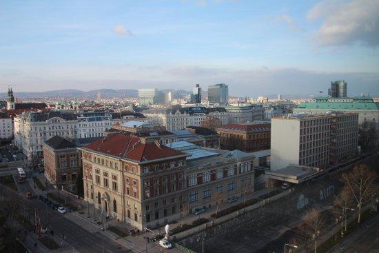 Hilton Vienna: View across the city