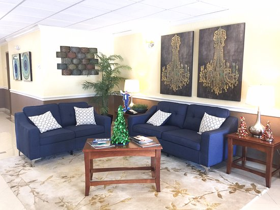 Baytown, Τέξας: lobby.. i loved the painting so took a picture
