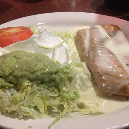 Sellersburg, IN: Shredded beef chimichanga.