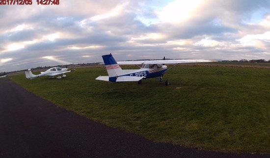 Retford, UK: Immediately after flight experience