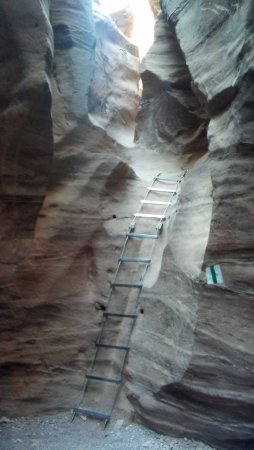 Red Canyon: Drabinka w kanione