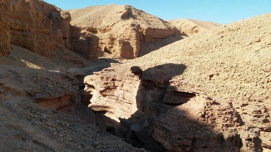 Red Canyon: Droga powrotna. Kanion z góry