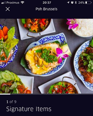 Poh Refined Thai Cuisine: some of our signature dishes