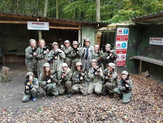 Operation Laser Tag