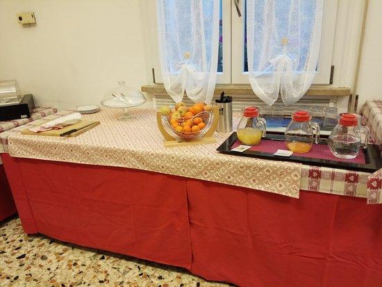 Centro della Famiglia: la sala per la colazione