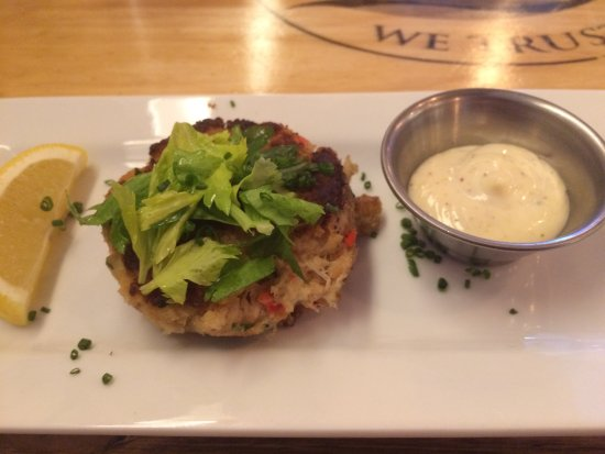 Lake Zurich, IL: Yummy Crab Cake with Lemon Aloli Sauce  1 of 7 Available