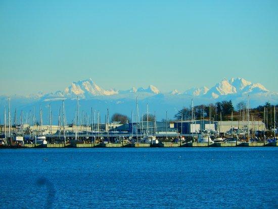 Oak Harbor, WA: The Cascades and the bay