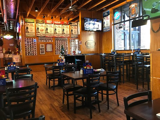 Ankeny, IA: Flying pigs, full bar, party room, lots of TVs for sports fans