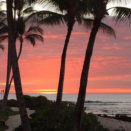 Sunset at Hilton Waikoloa Village