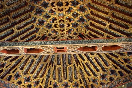 La Madraza: Woodwork ceiling decorations