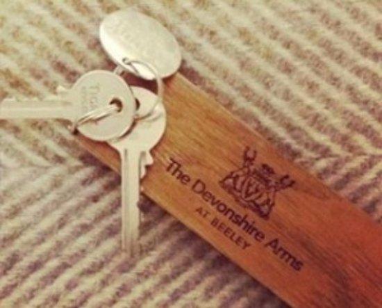 Beeley, UK: Keys