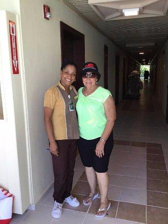 con Elba Iris Severino