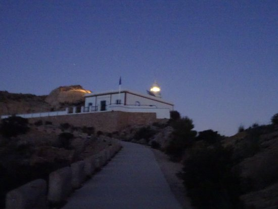 El Albir, Hiszpania: Light house by evening