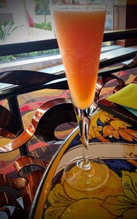 Grotto : Peach Bellini was delish!