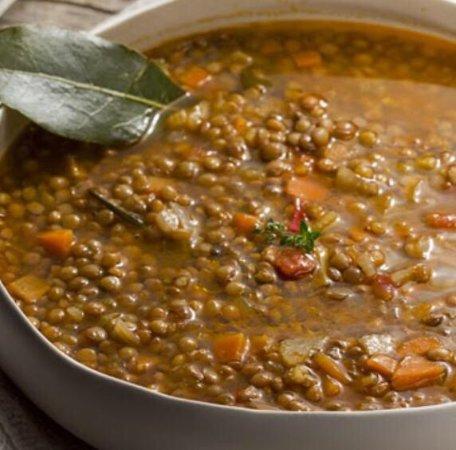 Signa, Italia: zuppa di lenticchie