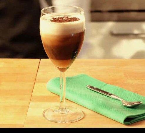 Signa, Italia: Irish coffee espresso