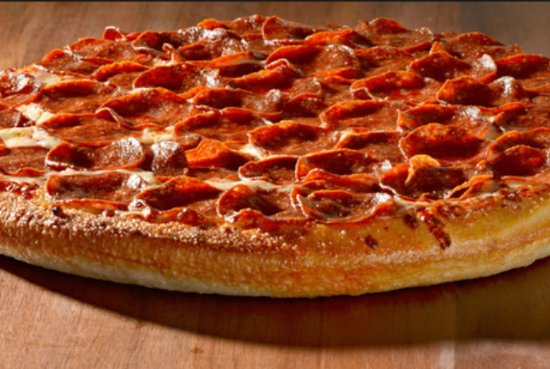 Butte, Μοντάνα: Our double layer Pepperoni Pizza is a customer favorite!