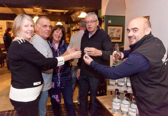 Leyburn, UK: Masons Gin Tasting