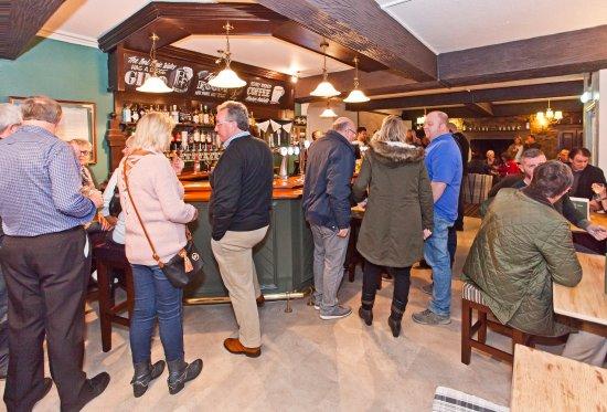 Leyburn, UK: Main Bar