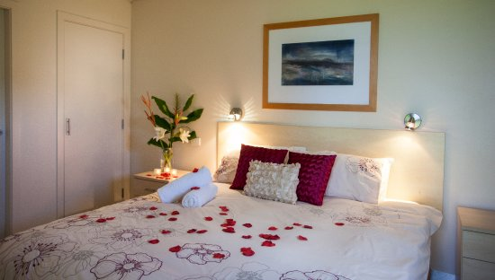 Lovedale, Australia: Queen sized bedroom with ensuite
