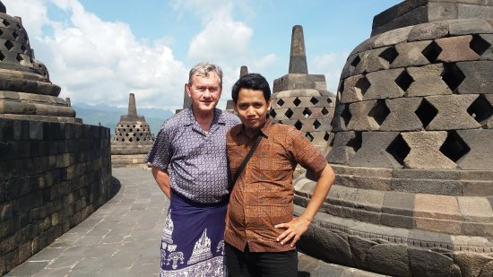 Sleman, Indonesia: Another day at Borobudur