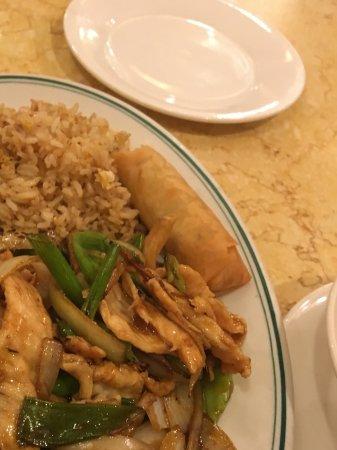 Emperor's Palace Chinese Restaurant: Garlic chicken