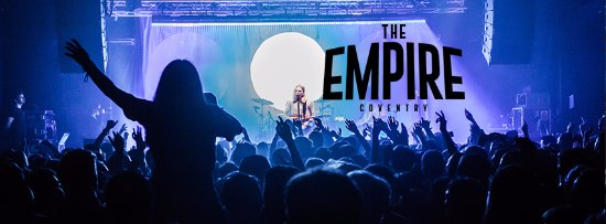 Κόβεντρυ, UK: Sundara Karma LIVE at #DownAtEmpire in Coventry