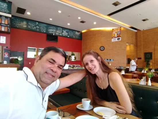 Araçatuba, SP: um café com minha amada