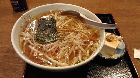 Sano, Japan: もやしラーメン