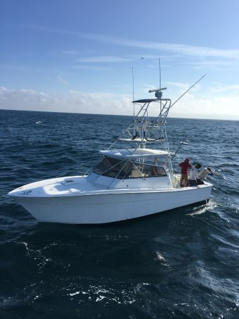 Port Canaveral, FL: Centerfold is looking pretty! She is ready to fish!!