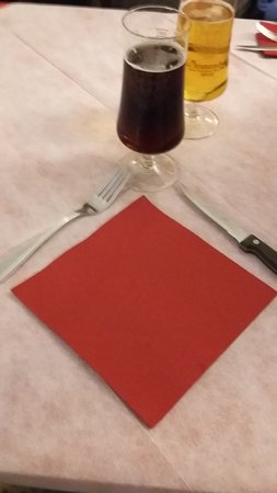 Filetto, Italy: Mise en place