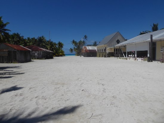 Palmerston Island, Cook Eilanden: Palmerston High Street