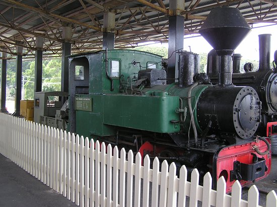 Zeehan, Australia: One of the many great exhibits