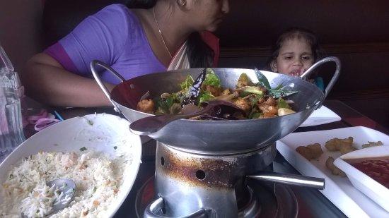 Sri Jayawardenepura, Sri Lanka: Great food